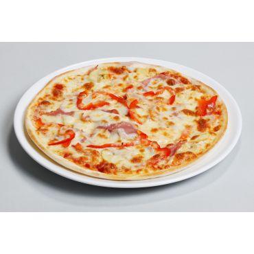 Pizza Mittelmeer Knoblauch