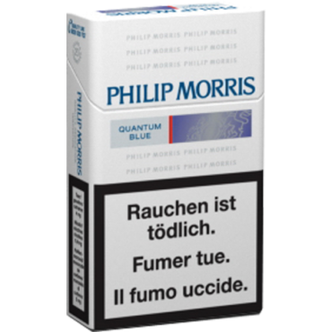Philip Morris Quantum Blue Box